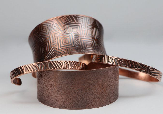 Rolling Mill Textured Cuffs with Melissa Muir
