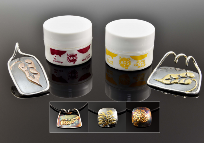 Adding Accent Gold to Your Metal Clay Projects with Pam East