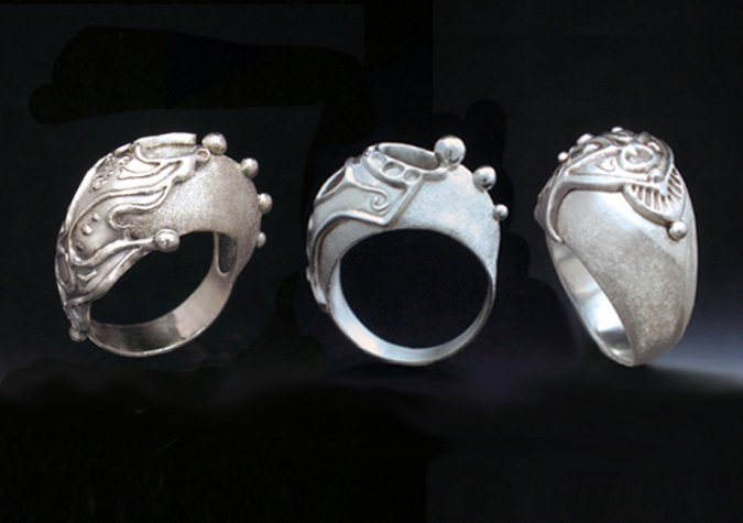 Learn to Make Sterling Clay Dome Rings with Hattie Sanderson