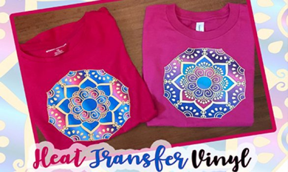 Custom Designed Shirts Using Heat Transfer Vinyl