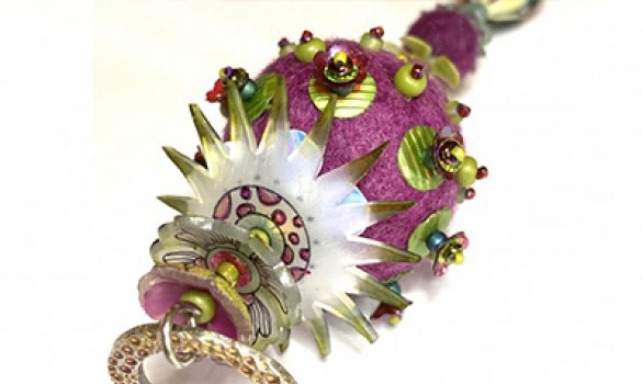 Shrink Plastic, Felting and Embellishing Beads and Baubles!