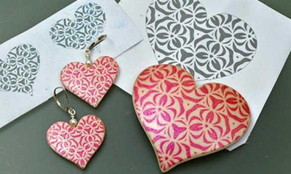 Making Silkscreens for Polymer Clay using the Silhouette Studio Software
