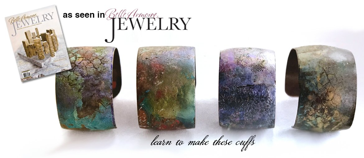 As seen in Belle Amoire Jewelry - Learn to make these cuffs