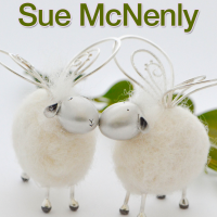 Making Metal Clay Felted Sheep@craftcast.com