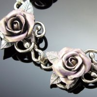 Metal Clay Rose Ring
