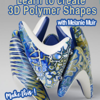 learn to create 3d polymer beads