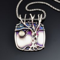 Creating a Metal Clay Tree of Life Pendant with Pam East