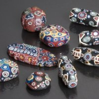 polymer beads with Cynthia Tinapple