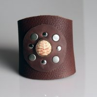 learn to make leather jewelry