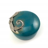 Silver Clay Treasure Box with Pam East @ CraftCast.com