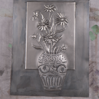 Learn to Metal Emboss a Vase of Daisies