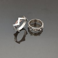 Learn to make a spinner ring from metal clay