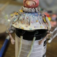 Making Jiggly Jointed Dolls from Polymer Clay with Doreen Kassel