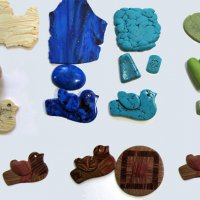 Learn to Make Polymer Clay Faux Ivory, Jade, Lapis, Turquoise and More with Mags Bonham