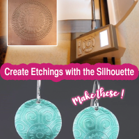 Learn to Design and Create Copper Etchings using the Silhouette Software with Shannon Greenlese