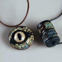 how to make seed bead mosaic jewelry