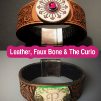 The Silhouette Curio – New Possibilities with Leather and Faux Bone with Cindy Pope and Robert Dancik