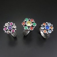 Pazazzy Rings in Metal Clay with Joy Funnell at CraftCast.com