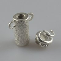 Creating Metal Clay Screw Top Vessels with Julia Rai at CraftCast.com