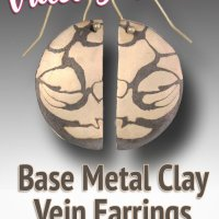Sculptural Slug Pendants & Vein Earrings using Base Metal Clays with Hadar Jacobson @ CraftCast.com