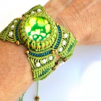 Learn to create unique jewelry using Micro Macrame & Polymer Clay with Iris Mishly