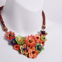 Create a 3D Flower Polymer Clay Necklace using your Silhouette Cameo™ Cutter with Mags Bonham
