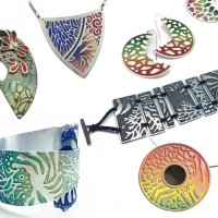Creating with Aluminum: Cutting, Etching & Colouring with Maggie Bergman