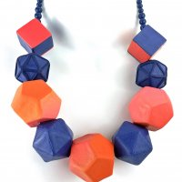 The Big 3D Polymer Necklace with Mags Bonham at CraftCast.com
