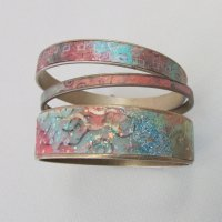 Colorful Polymer Clay Bangles with Meredith Arnold