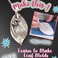 Learn to Make Leaf Molds with Pam East