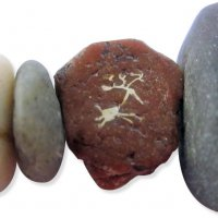 POLYMER Stones and Sea Glass with Cynthia Tinapple