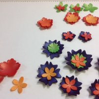 Create a 3D Flower Polymer Clay Necklace using your Silhouette Cameo™ Cutter