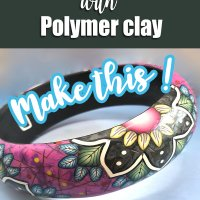 Beautiful Bangles in Polymer Clay with Deb Hart @ Craftcast.com