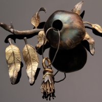 Creating Botanical Metal Clay Jewelry and Storage Vessel with Patrik Kusek