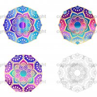 Print and Cut Mandalas