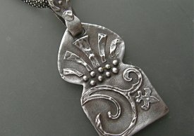Learn to Stencil Using Metal Clay 