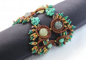 New Beading Possibilities: Beading using Knitted Wire with Nealay Patel