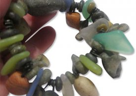 Making POLYMER Stones and Sea Glass with Cynthia Tinapple