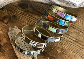 CRAFTCAST Enameled Bangle Samplers with Katharine Wood