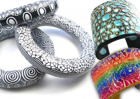 Learn to Make Polymer Bangles and Cuffs with Debbie Carlton