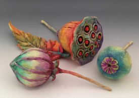Creating Organic Pods using Polymer Clay with Doreen Gay Kassel