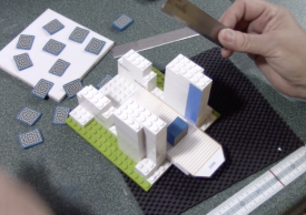 Making a Cane Slice from Lego® Blocks