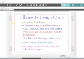 Silhouette Design Camp:  Amping up your Silhouette Design IQ