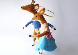 Needle Felted Whimsy with Miss Bumbles