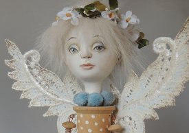 Learn to make a whimsical Fairy Elf with Marlaine Verhelst