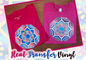 Custom Designed Shirts Using Heat Transfer Vinyl with Cindy Pope