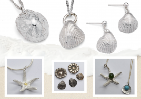 Learn to Create Easy Summertime Metal Clay Charms with Julia Rai @ CraftCast.com