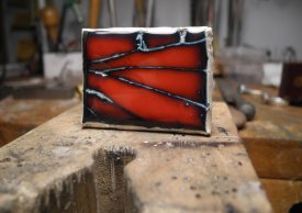 Creating Jewelry Using Metal Clay and Glass with Chris Darway