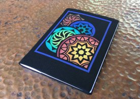 Starry Night Journal Cover with Shelly Stokes