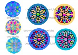 Colorful Stained Window Designs